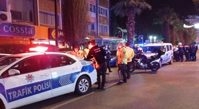 Aydın'da alkollü sürücü ortalığı birbirine kattı