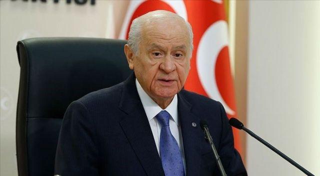 Bahçeli: Sayın Cumhurbaşkanı'na 'sözde' demek Türk milletine hakarettir