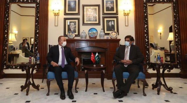 Bakan Çavuşoğlu: Kardeş Pakistan ile önümüzdeki süreçte temaslarımızı arttıracağız