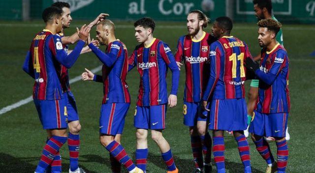 Barcelona, Kral Kupası'nda ilk 16'da