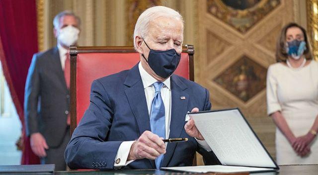 Biden, 'Başkan' olarak ilk belgelerini imzaladı