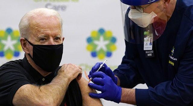 Biden, Covid-19 aşısının 2. dozunu yaptırdı