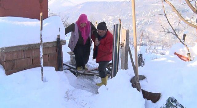 Bursa'da sevdiği kadın için dağa 70 metrelik teleferik yaptı