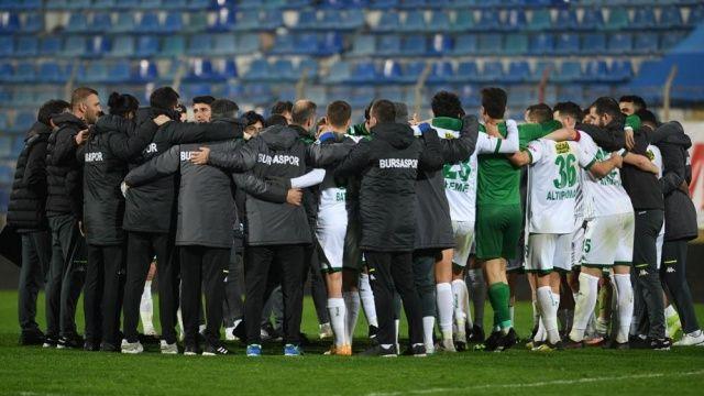 """Bursaspor Kulübü: """"İstiyoruz inatla"""""""