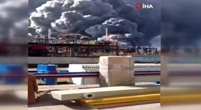 Çin'de fabrikada patlama: 1 ölü, 7 yaralı