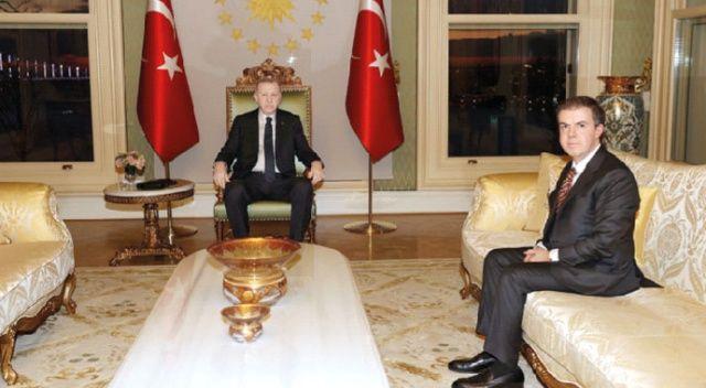 Cumhurbaşkanı Erdoğan, Ahmet Mücahid Ören'i kabul etti