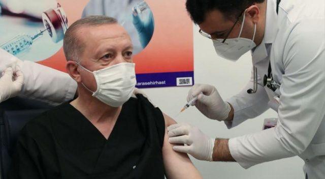 Cumhurbaşkanı Erdoğan, aşı oldu