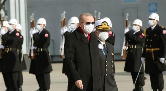 Erdoğan: Kendi savaş gemisini tasarlayan 10 ülke içinde yer alıyoruz