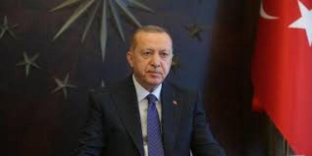 Cumhurbaşkanı Erdoğan, TBMM Başkanı Mustafa Şentop'u kabul etti