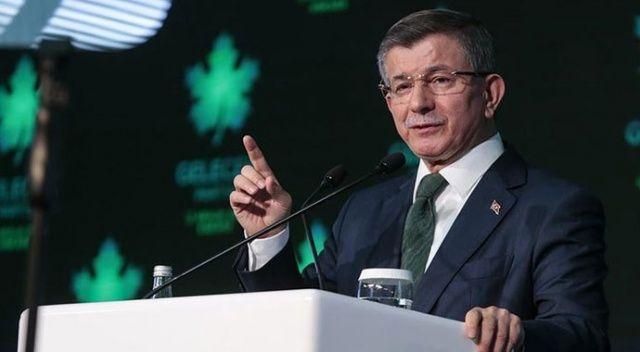 Davutoğlu, partisinin il başkanları toplantısında konuştu