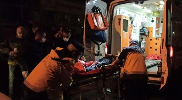Dükkanını kapatan işyeri sahibine pompalı tüfekle saldırı