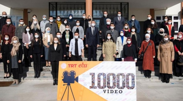 EBA TV öğretmenlerinden rekor: 10 ayda 10 bin ders videosu