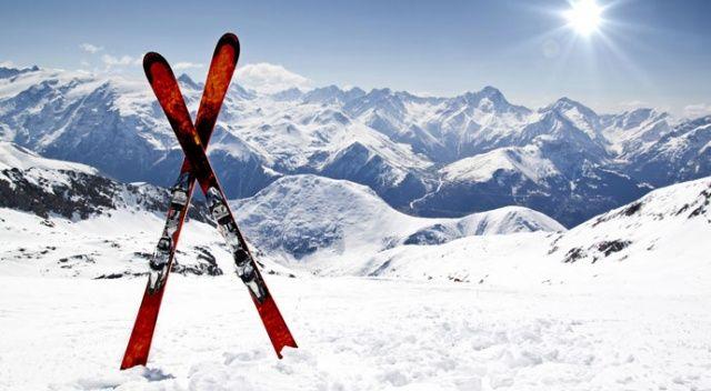 Erciyes kayak için yerli turisti bekliyor