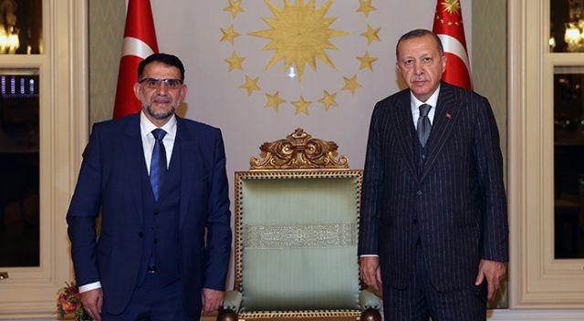 Erdoğan, Kuzey Makedonya Anayasa Mahkemesi Başkanı Murat'ı kabul etti