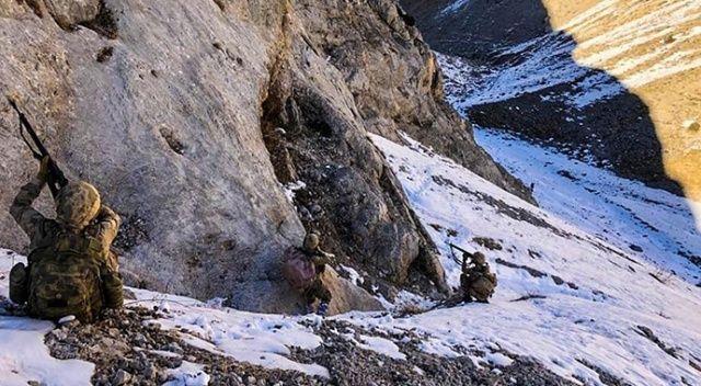Erzincan'da komandolar terör inlerini bir bir imha etti
