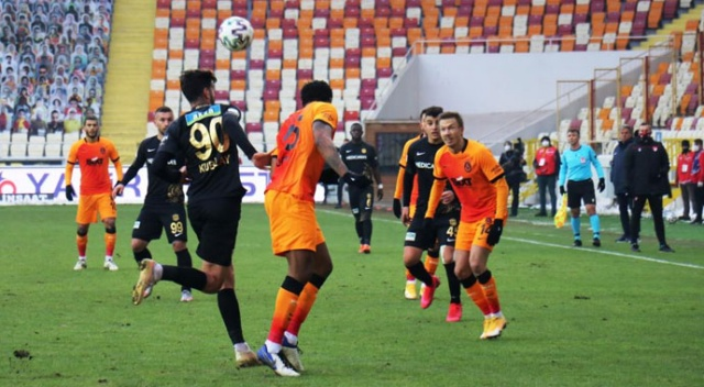 Galatasaray deplasmanda Malatyaspor'u 1-0 mağlup etti