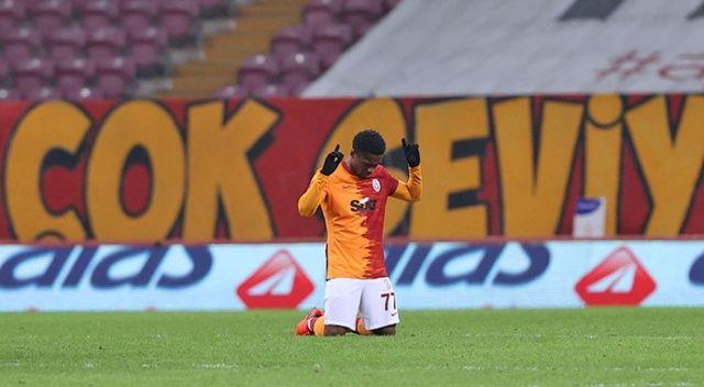 Galatasaray'ın TT Stadyumu'ndaki 500'üncü golü Jesse Sekidika'dan