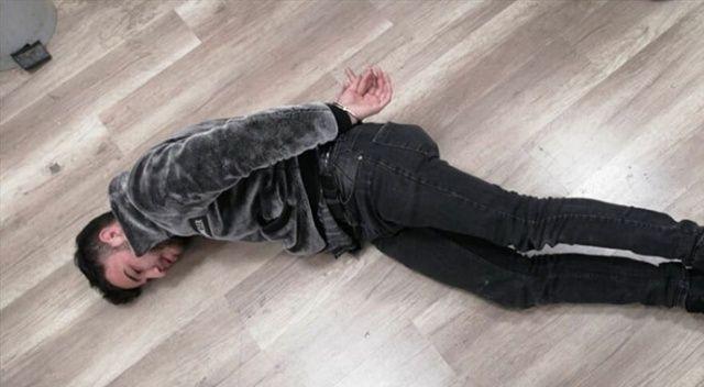 Görüntülerde Ümitcan Uygun'un yanında bulunan kadın gözaltına alındı