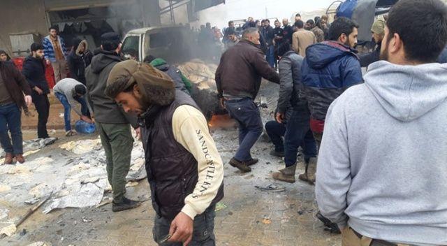 Halep'te bombalı araçla saldırı: 1 ölü, 8 yaralı