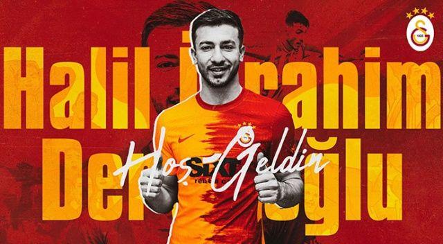 Halil İbrahim Dervişoğlu Galatasaray'da