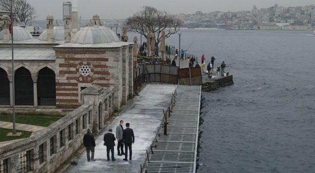 İBB Genel Sekreter Yardımcısı o betonu savundu: İnsanların denize düşmesini engelledik