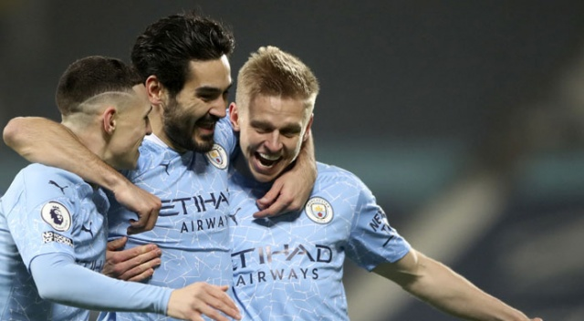 İlkay 2 gol attı, Manchester City zorlanmadı