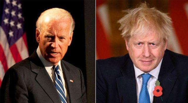 İngiltere Başbakanı Johnson, ABD Başkanı Biden ile görüştü