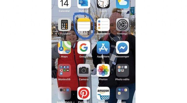 iPhone'unu tarayıcı olarak kullandı