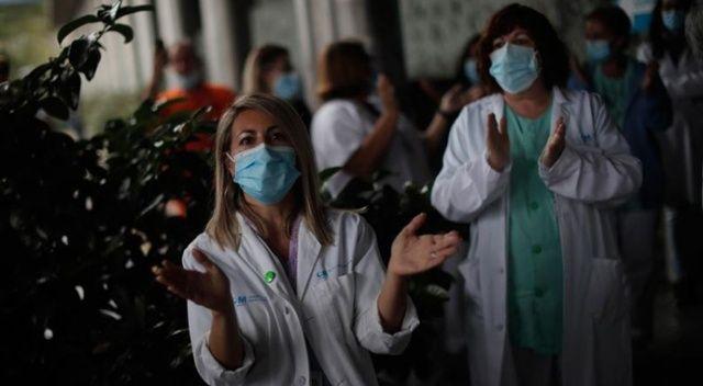 İspanya'da Kovid-19 nedeniyle hastanelerdeki yoğunluk artıyor