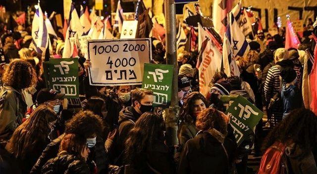 İsrail'de Netanyahu karşıtı protestolar 7 aydır devam ediyor