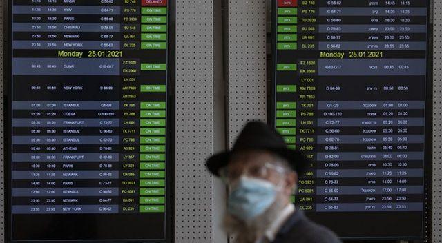 İsrail, uluslararası uçuşları durdurdu