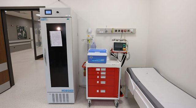 İstanbul'da Covid-19 aşı odaları için hazırlıklar tamamlandı