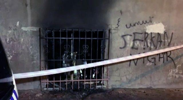 İstanbul'da yangın: İki çocuk can verdi