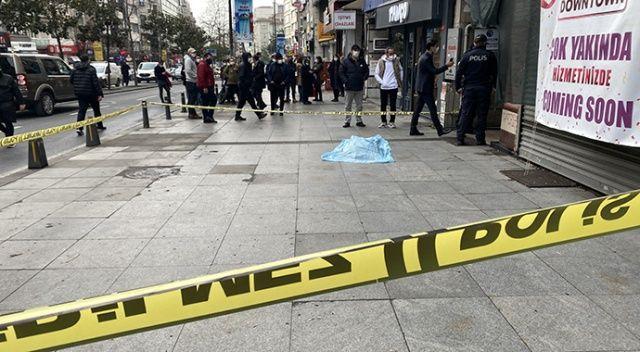 İstanbul'un göbeğinde korkunç ölüm!