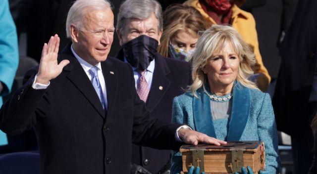 Joe Biden, ABD'nin 46. Başkanı olarak yemin etti