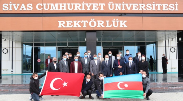 Karabağ'da şehit düşen veya gazi olanların çocuklarına Sivas'ta eğitim imkanı