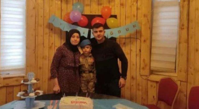 Katliam gibi kazada Jandarma Uzman Çavuş, eşi ve minik oğulları hayatını kaybetti