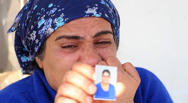 Kayıp kızı için gözyaşlarına boğuldu