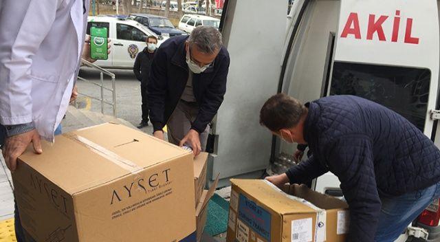 Kayseri'de koronavirüs aşıları hastanelere dağıtılmaya başlandı