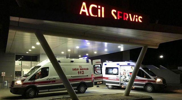 Korkunç kaza! Fabrika işçisi 11 metreden düşerek ağır yaralandı