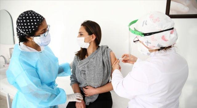 Kovid-19 aşısı yaptıranların sayısı 500 bini geçti