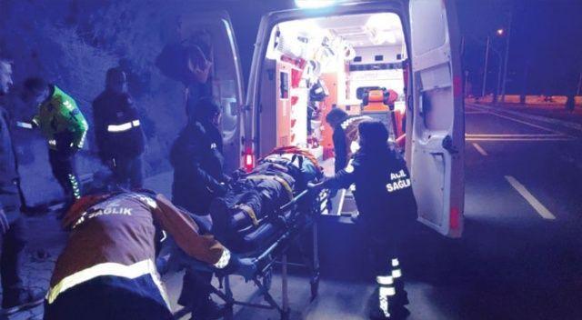 Kuşadası çevre yolunda motosiklet kazası: 1 ağır yaralı