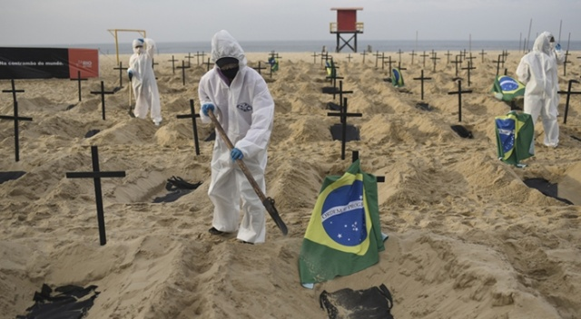 Latin Amerika ülkelerinde Covid-19'a bağlı can kayıpları artıyor