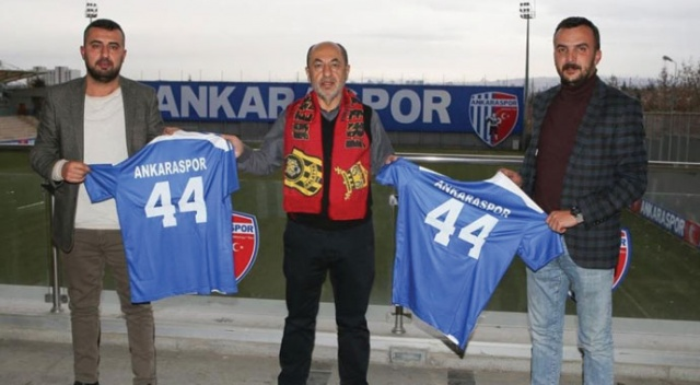 Malatyasporlu taraftarlardan Ankaraspor'a destek
