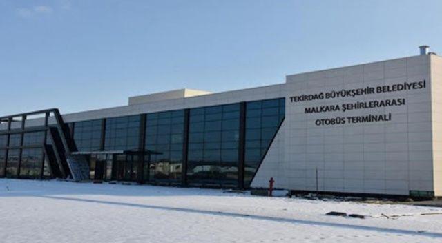 Malkara Otogarı'ndaki 11 adet işyeri kiralanacak