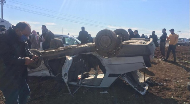 Mardin'de trafik kazası: 3 yaralı
