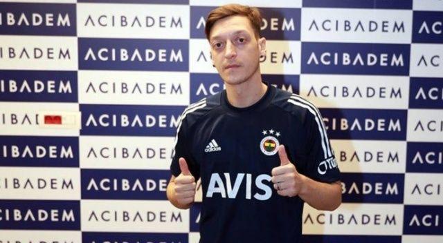 Mesut Özil'in sağlık kontrolünden geçti