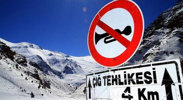 Meteoroloji'den 4 il için kar ve çığ uyarısı