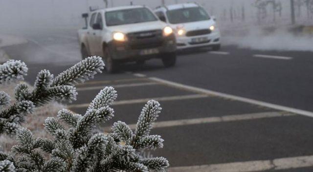 Meteorolojiden kuvvetli buzlanma ve don olayı uyarısı