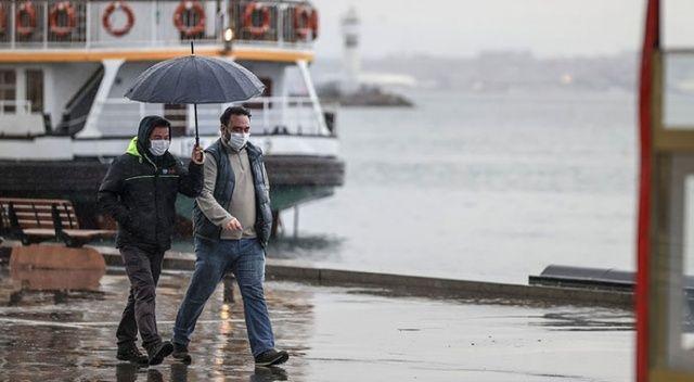 Meteorolojiden sağanak uyarısı (25 Ocak 2021 hava durumu)